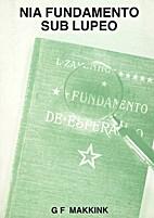 Nia Fundamento Sub Lupeo by G. F. Makkink