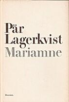 Herod and Mariamne by Pär Lagerkvist