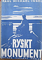 Ryskt monument by Ragnar Holmström