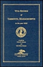 Vital records of Yarmouth, Massachusetts to…