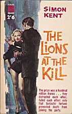 The lions at the kill by Max Catto