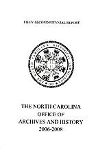 Biennial Report The North Carolina Office Of…