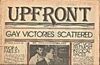 Upfront (Volume 1, Number 17) Gay Victories…