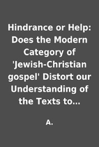 Hindrance or Help: Does the Modern Category…