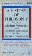 A History of Philosophy, Vol. 6, Part I :…