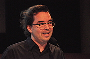 Author photo. Kembrew McLeod presenting at the 2014 Pop Conference, EMP Museum, Seattle, Washington, U.S. Photo by Joe Mabel (<a href=&quot;http://commons.wikimedia.org/wiki/User:Jmabel&quot; rel=&quot;nofollow&quot; target=&quot;_top&quot;>http://commons.wikimedia.org/wiki/User:Jmabel</a>)