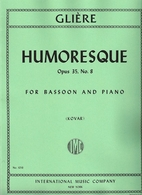 Humoresque, Op. 35 No. 8 by Reinhold Gliere