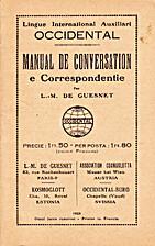 Manual de conversation e correspondentie by…
