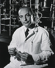 Author photo. Arthur Kornberg (National Library of Medicine, NIH)