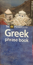 Greek Phrase Book (AA Pocket Guides) by AA