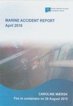Marine Accident Report. April 2016. CAROLINE…