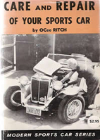 Care And Repair Of Your Sports Car by Ocee…