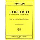 Concerto in D Minor - Violin 2 by Antonio…