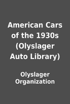 American Cars of the 1930s (Olyslager Auto…
