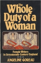 The Whole Duty of a Woman: Female Writers in…