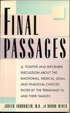 Final Passages by Judith C. Ahronheim