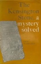 The Kensington stone, a mystery solved by…