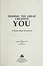 Finding the Great Creative You: A Seven Step…