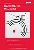 Mathematics Magazine 2015 V88 by (MAA)