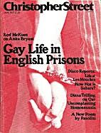 Christopher Street (June 1977) Gay Life in…