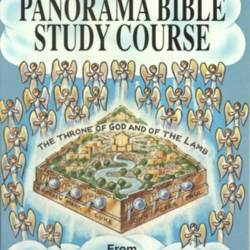 Alfred Eade ~ Expanded Panorama Bible Study Course © 1961 Hardcover/Jacket GOOD+