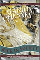 Back in Society by Marion Chesney