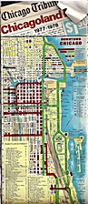 Chicagoland Map 1977-1978