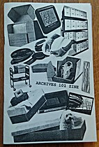 Archives 101 Zine by The Los Angeles…
