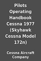 Pilots Operating Handbook Cessna 1977…