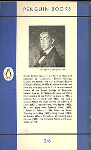 Author photo. Scan of back cover of Penguin No.970 (pub.1954)