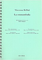 La sonnambula : [vocal score] by Vincenzo…