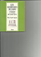 Les germanes de Safo by Maria Àngels…