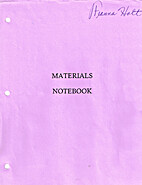 Materials Notebook by Ebroiderers' Guild of…