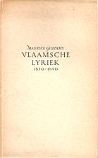 Vlaamsche lyriek : 1830-1890 by Maurice…