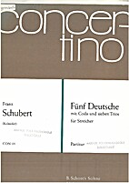 Fünf Deutsche mit Coda und Sieben Trios…
