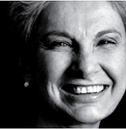 Author photo. Lella Vignelli [credit: Rochester Institute of Technology]
