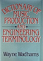 Dictionary of Music Production and…
