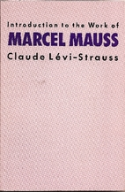 Introduction to the Work of Marcel Mauss by…