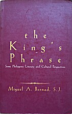 The King's Phrase: Some Philippine literary…