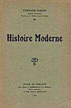 Histoire Moderne by Fernand Discry
