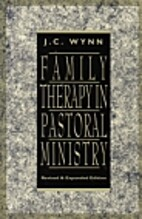 Family Therapy in Pastoral Ministry by John…