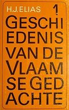 Geschiedenis van de Vlaamse gedachte -…