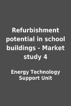 Refurbishment potential in school buildings…