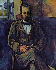Author photo. Portrait by Paul Cézanne, 1895 <br>(Yorck Project)