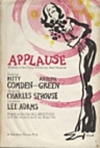 Applause [sheet music] by Charles Strouse
