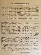 Ab Oriente venerunt Magi by Jacob Handl