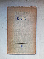 Lord Byron: Kain, ein Mysterium by Reinhold…