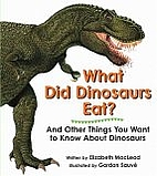 Everything you want to know about dinosaurs…