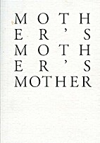 Mother's Mother's Mother by Jenny Western