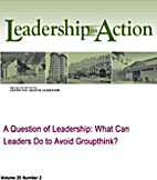 A Question of Leadership: What Can Leaders…